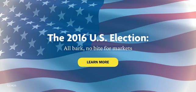 The 2016 U.S. Election: All bark, no bite for markets