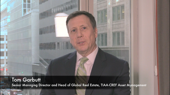 TIAA-CREF's Tom Garbutt Discusses Real Estate Trends with Institutional Real Estate, Inc.