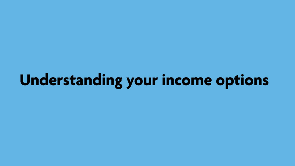 Income Options Video Still
