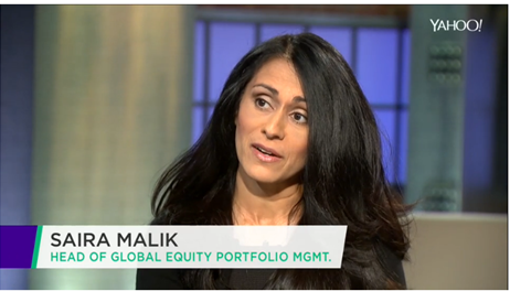 Saira Malik discusses US equities with Yahoo Finance.