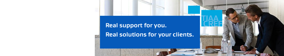 Real support for you.  Real solutions for your clients.