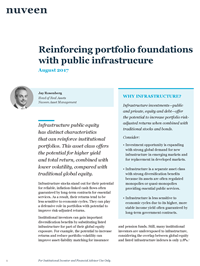 Reinforcing portfolio foundations with public infrastructure