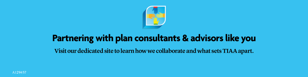 Partnering with plan consultants & advisors like you