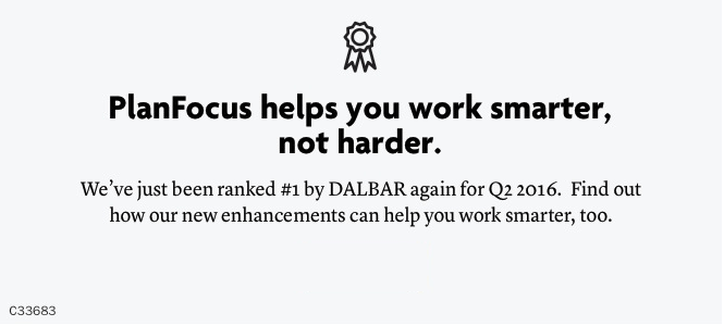 PlanFocus helps you work smarter, not harder