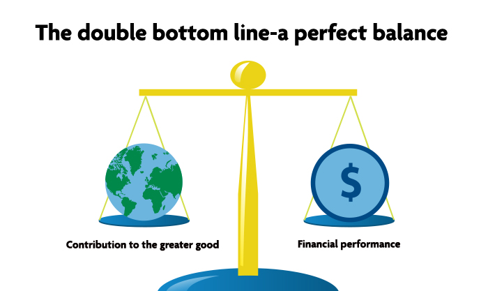 The double bottom line-a perfect balance