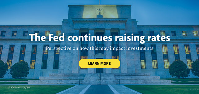 The Fed continues raising rates. Perspective on how this may impact investments. Learn more