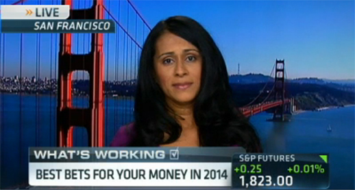 TIAA-CREF's Saira Malik provides 2014 equity outlook on CNBC's Squawk Box