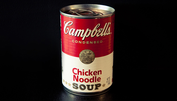 A soup can. Andy Warhol's will was vague and part of his cultural legacy