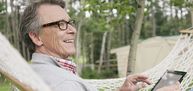 Your retirement accounts' tax forms are available online now.